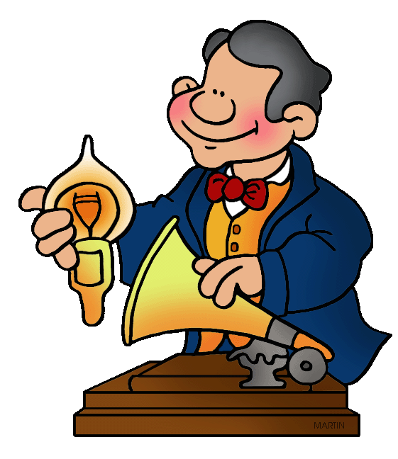 inventors and inventions clip art by phillip martin thomas edison rh inventors phillipmartin info